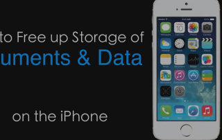 document and data iphone